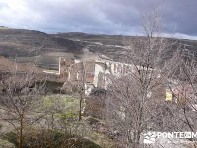 Ruinas del hospital de la Magadalena - Fuentidueña - viaje senderismo; senderos madrid
